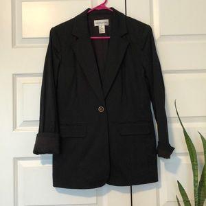 Vintage Bloomingdales Black Blazer Sz 12